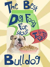 best bulldog food