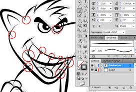 tutorial illustrator layers ultimate inking and coloring tutorial for adobe illustrator beats