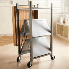 Folding Kitchen Island Cart 100 Crosley Furniture Kitchen Cart Plywood Raised Door