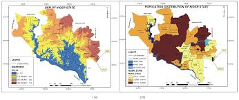 Niger River Map Terrain Analysis For Flood Disaster Vulnerability Assessment A