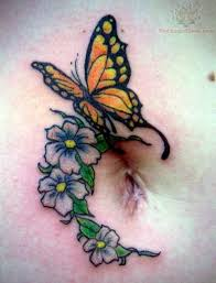 largest things in the 25 foxy butterfly with flower tattoos