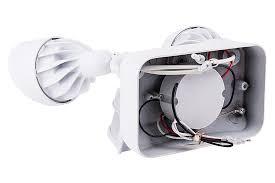 Motion Sensing Light Led Motion Sensor Light 2 Head Security Light 24w 1 850