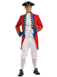 mens costumes redcoat costume wholesale historical mens costumes