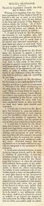 militia ordinance 1845 u2013 conscription conscientious objection and