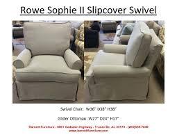 Rowe Sectional Sofas by Rowe Furniture Sophie Ii Slipcover Swivel Chair Swivel U0026 Swivel