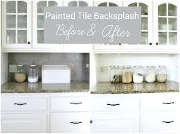 painting kitchen backsplash painting kitchen tile backsplash murphysbutchers com