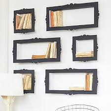 unique bookshelves baroque bookshelves that look like picture frames freshome com