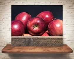 Kitchen Apples Home Decor Apple Photograph Etsy