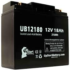 2 pack apc rbc7 1000 battery ub12180 12v 18ah sealed lead acid sla