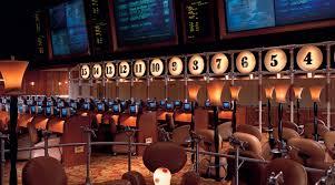 Bellagio Front Desk by Sports Bar Lounge Sports Book Bellagio Las Vegas Bellagio