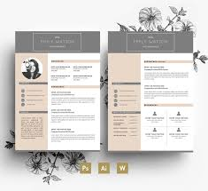 Adobe Indesign Resume Templates Resume Template 2 Page Sample Format In For Pages 87 Marvellous