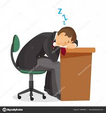 Student At Desk by Man Asleep At Desk Side View Male Sleeping On Table U2014 Stock