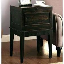 small black accent table small black end table medium size of coffee table awesome trunk wood