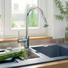 Hansgrohe Talis Kitchen Faucet Hansgrohe 14877001 Chrome Talis S Pull Down Kitchen Faucet U2013 Mega
