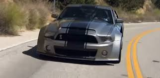 shelby mustang 1000 hp modified ford mustang shelby gt500 with 1000hp cars corner