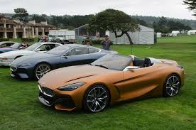 bmw concept video bmw concept z4 and 8 series coupe at pebble beach