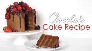 best rich dark chocolate cake recipe youtube