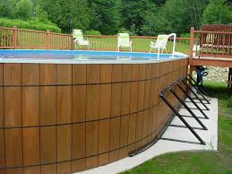 Above Ground Pool Landscaping Ideas Landscaping Ideas For Your Above Ground Swimming Pool Premier