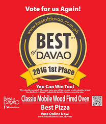 classio mobile wood fired oven home davao city menu prices