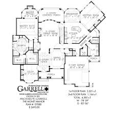 baby nursery 2 story house plans master down two curved monet manor house plan estate size plans story master down st large size