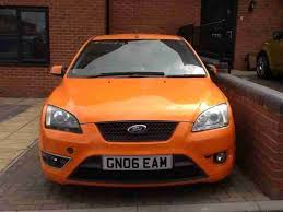 ford focus 2006 spare parts ford 2006 focus st 3 orange damaged repaired salvage spares and