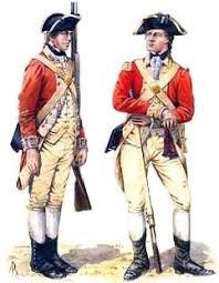 British Soldier Halloween Costume Redcoats