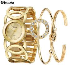 luxury gold bracelet watches images 2018 new luxury women watch famous brands gold fashion design jpg