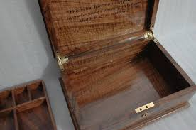 personalized wooden jewelry box engraved wooden jewelry box