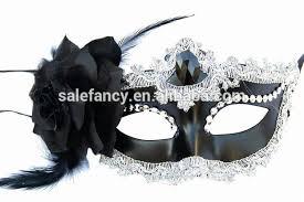 masquerade mask in bulk black flower feather masquerade party masks bulk wholesale