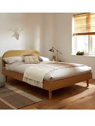 modern wood bed frames home design
