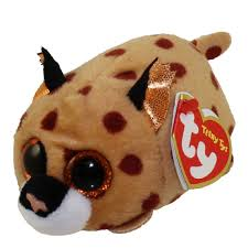 ty beanie boos teeny tys stackable plush kenny leopard 4