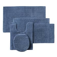 Rubber Backed Bathroom Rugs by Sonoma Goods For Life Reversible Cotton Bath Rugs