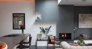 Living Room Minimalist Design Attic Living Room And Kitchen