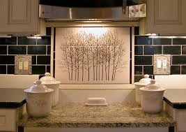 kitchen mural backsplash white kitchen plan to kitchen back splash tile mural by designers