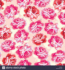 vintage rose pattern shabby chic style flower background red