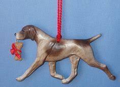 wolfhound tiny one ornament next tree