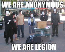 Anonymous Meme - never coming back going to anonymous by coma toast meme center