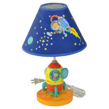 Kids Lamps Amazon Com Fantasy Fields Kids Outer Space Thematic Table Lamp