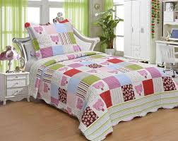 Girls Bedroom Quilts Pink And Green Bedding Sets U2013 Ease Bedding With Style