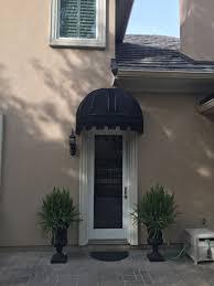 Sugar House Awning 5 U0027 Easyawn Dome Canvas Window Or Door Awning Canopy Door Canopy