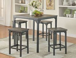Industrial Style Pub Table Set