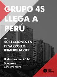 imagenes jueves grupo grupo 4s llega a perú con el curso de 50 lecciones en desarrollo