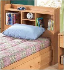 Bookcase Beds With Storage Furniture Home King Bed With Bookcase Headboard Large Image For