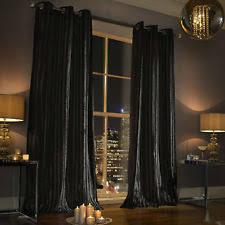 Deep Red Velvet Curtains Lined Velvet Curtains Ebay