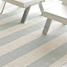 White Cotton Rug Dash And Albert Yacht Stripe Ocean Woven Cotton Rug Ships Free