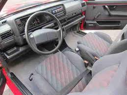 Golf Gti Mk2 Interior Buy Used 1991 Volkswagen Golf Gl 57 395 Original Miles Gti