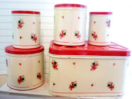 Clear Plastic Kitchen Canisters 118 Best Red Canisters Images On Pinterest Red Canisters