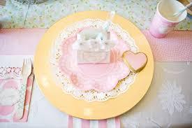 Plate Decorating Ideas For Desserts An Elegant Shabby Chic Baptism Dessert Social Tips On