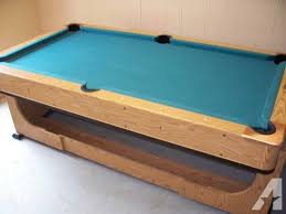pool and air hockey table pool table air hockey combo for sale in peoria illinois