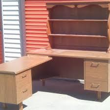 Cream Desk With Hutch Furniture Custom Office Furniture By Computer Desk With Hutch
